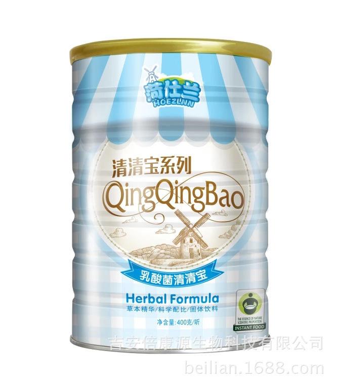 菏仕兰乳酸菌清清宝_400克铁罐装
